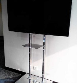 stainless steel 2-tiang-bracket tv
