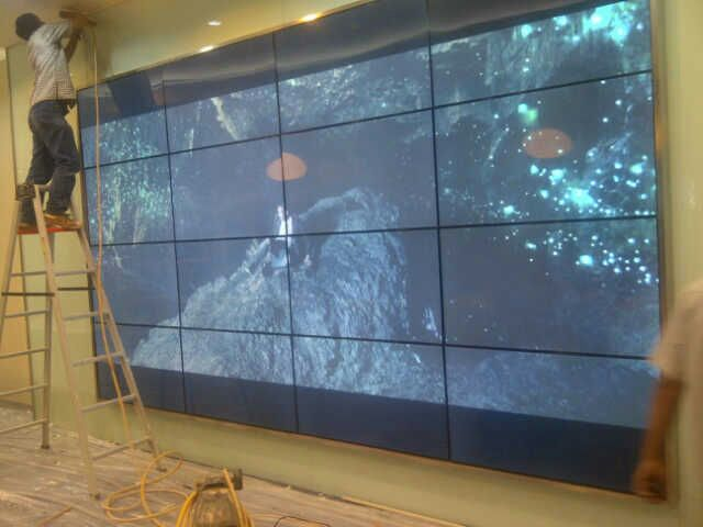 4x4 videowall bracket tv