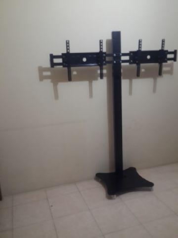 Bracket Standing Dual TV Hitam
